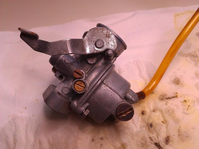 clean ps50 carburettor