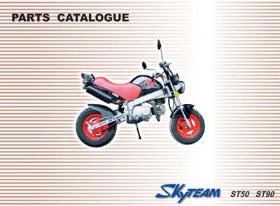 Parts List for Skyteam PBR50