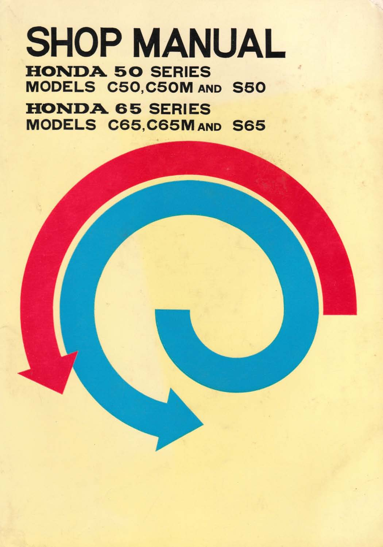 Workshop manual for Honda S65 (1970)
